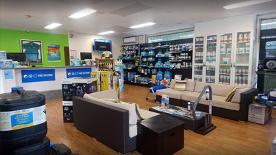 JC Pool Services Fairfield Pool Store Showroom Far