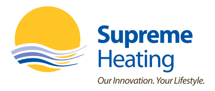 Supreme Heating Company Logo